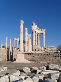 Temple of Trajan - Acropolis of Pergamon