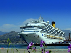 Costa Magica docked at Izmir Cruise Port