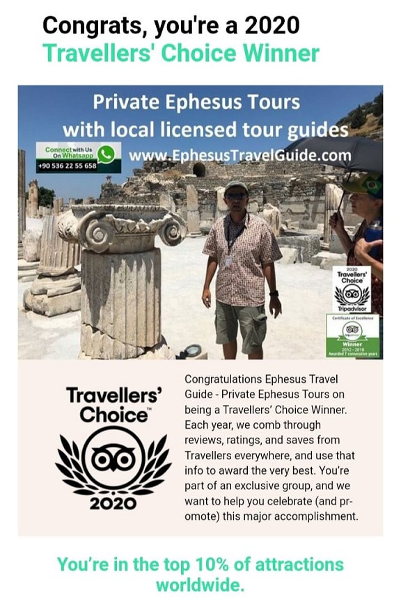 Recommended Ephesus Tour Guide